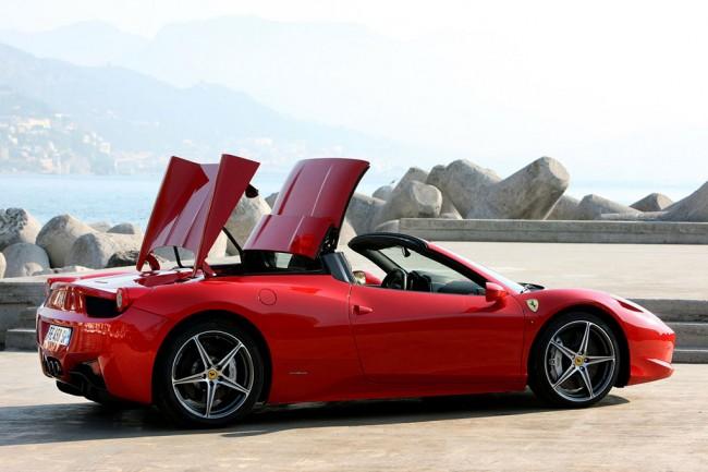 Ferrari 458 Italia Spider фото
