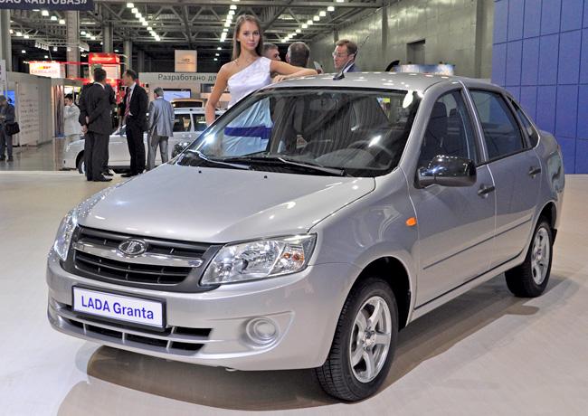 На Интеравто-2011 показали Ладу Гранта с АКПП