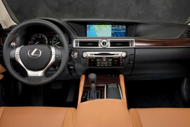 Салон Lexus GS 4