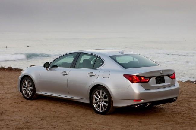 Фото нового Lexus GS 350