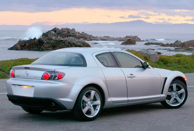 Выпуск роторного купе Mazda RX-8 прекращен