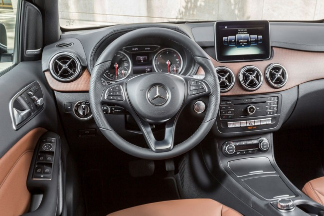 Салон Mercedes B-Class W246