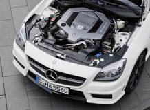 Двигатель V8 на SLK55 AMG