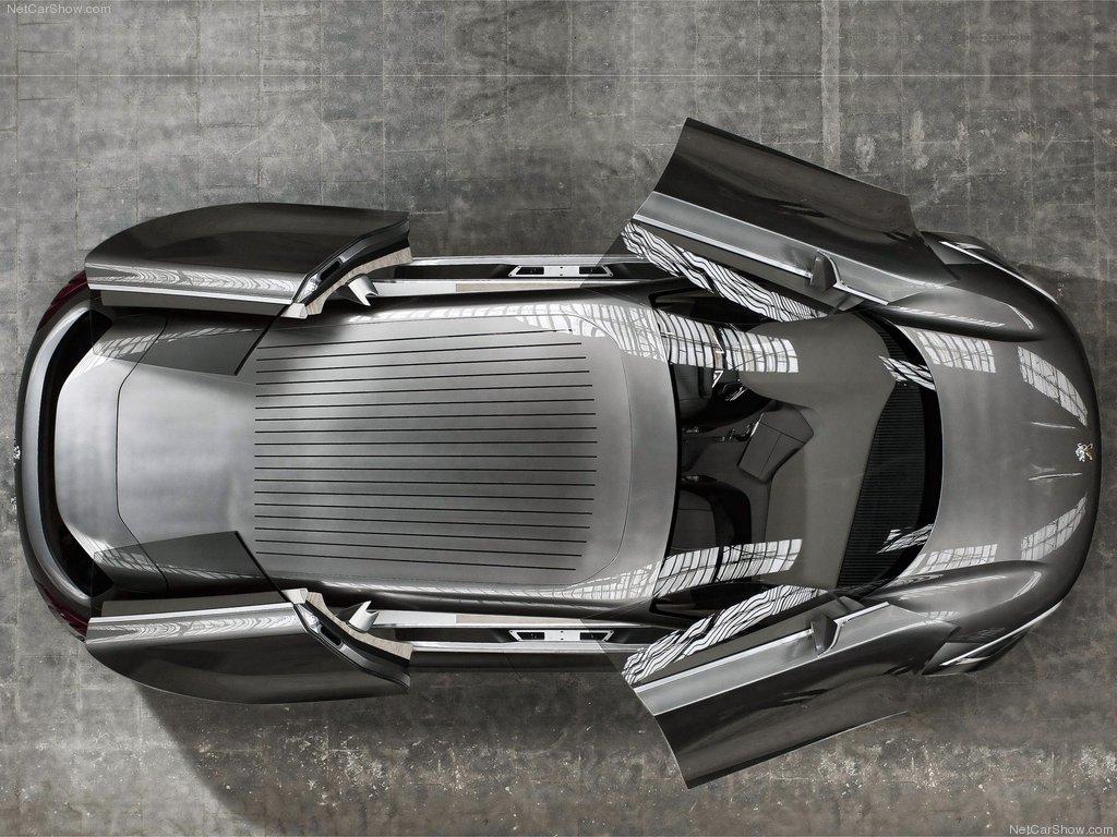 Peugeot HX1 Concept вид сверху