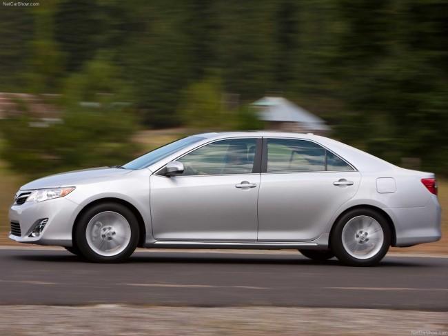 Новая Toyota Camry 2012 представлена официально