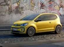 Фото нового Volkswagen up! 2016