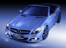 Фото тюнинг Mercedes SL