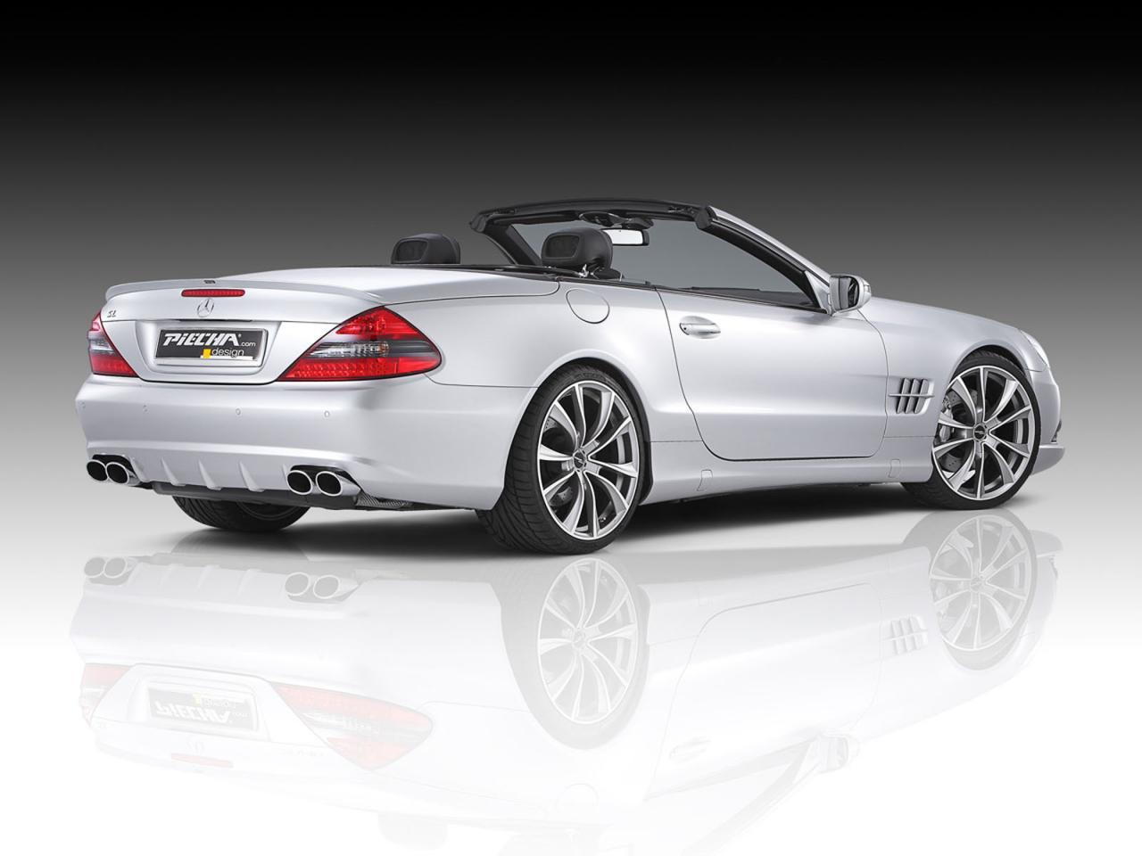 Обвес для Mercedes SL от Piecha