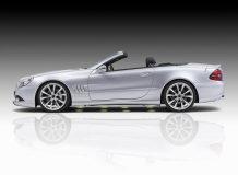 Диски на Mercedes SL от Piecha