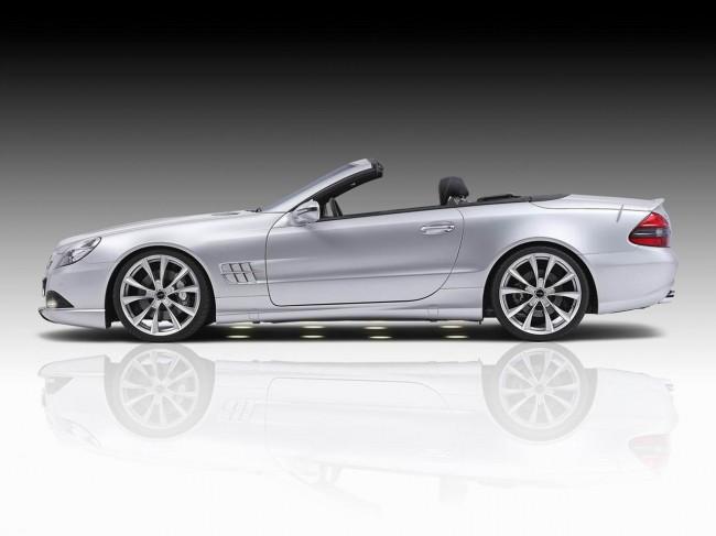 Mercedes SL от тюнинг ателье Piecha Design