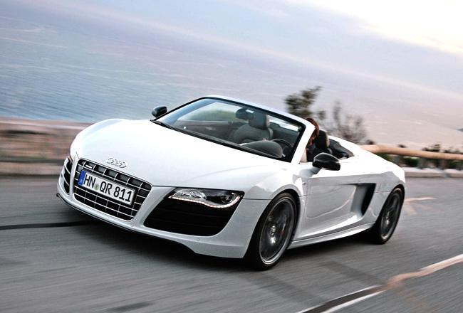 Audi отзывает в Штатах суперкары R8 Spyder