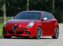 Фото тюнинг Alfa Romeo Giulietta от Novitec
