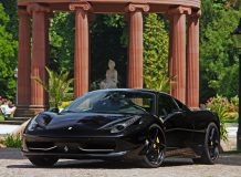 Феррари 458 Италия с хромом