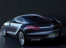 Серийный Bugatti Galibier получит измененный дизайн