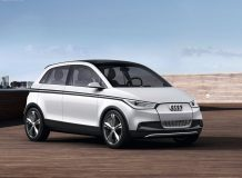 Фото компактного Audi A2 Concept