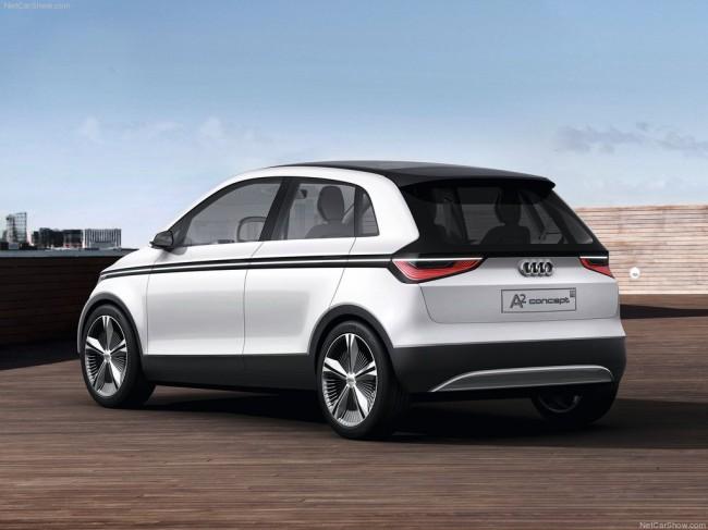 Audi A2 Concept обрастает подробностями