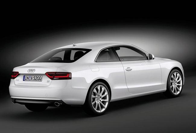 Фото новой Audi A5 Coupe 2012