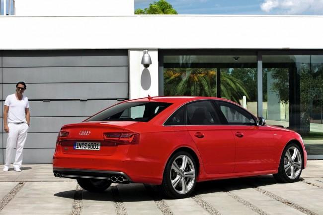 Горячий седан Audi S6 (C7)