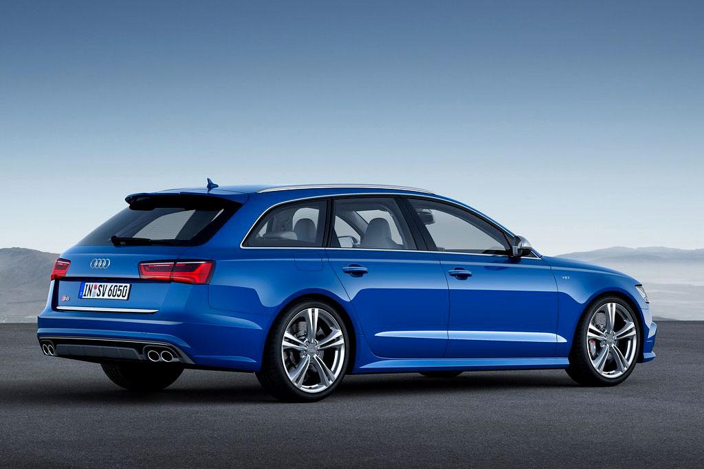 Обновленная Audi S6 2015