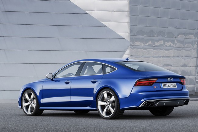 Обновленная Audi S7 Sportback 2015