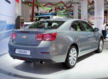 Новый Chevrolet Malibu 2012 фото