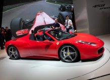 Новая Ferrari 458 Spider