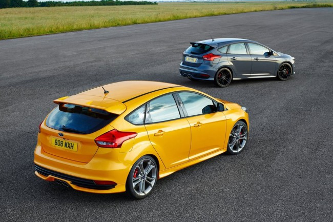 Форд Фокус ST 2015 рестайлинг