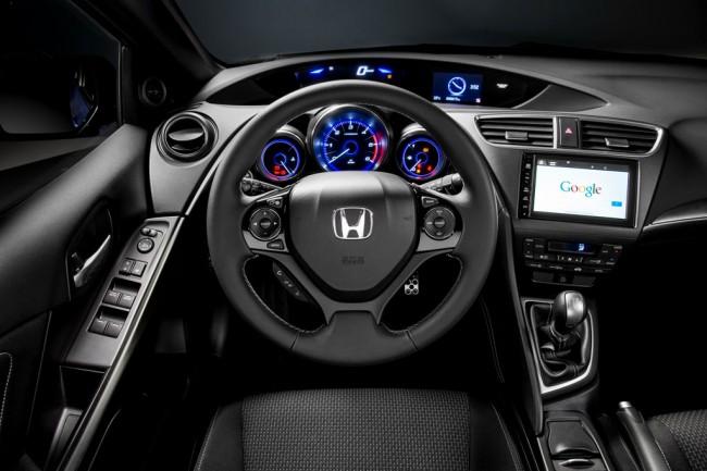 Салон хэтчбека Honda Civic 5D