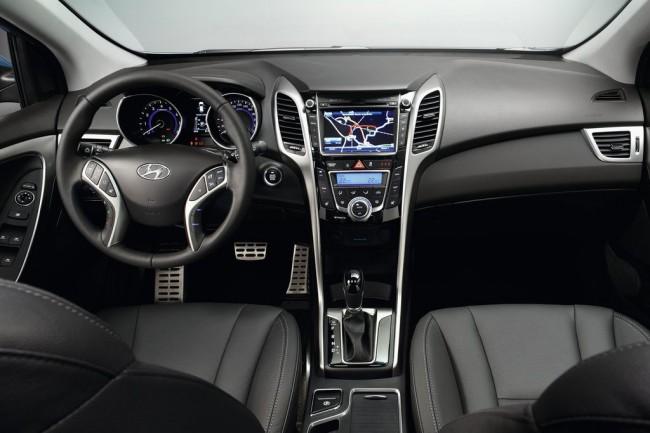 Салон Hyundai i30 2