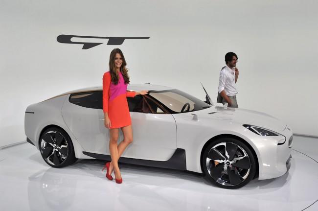 Kia GT Concept на автосалоне во Франкфурте