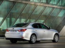 Фото нового Lexus GS 450h