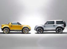 Land Rover представил концепты DC100