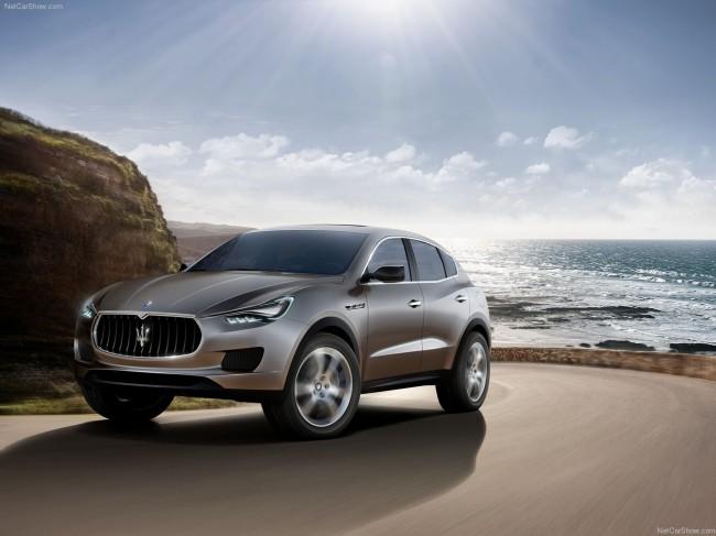 Maserati представила внедорожник Kubang