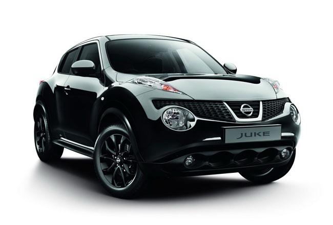 Фото черного Nissan Juke Kuro