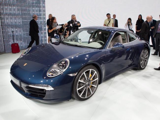 Новый Порше 911 (911) дебютировал во Франкфурте