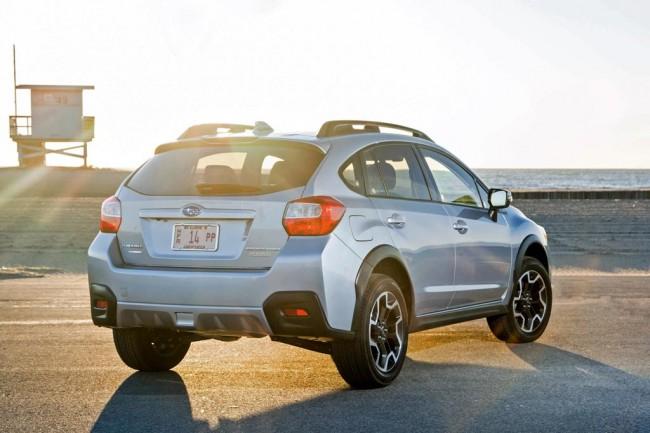 Обновленная Subaru XV 2016