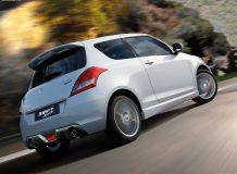 Фото нового Suzuki Swift Sport 2012