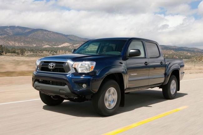 Обновленный пикап Toyota Tacoma 2012