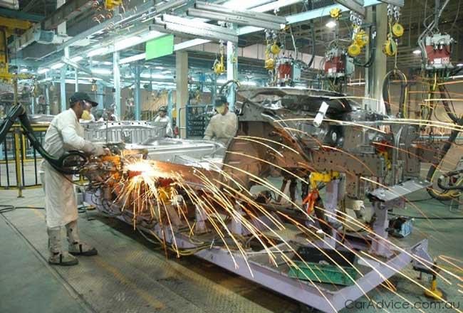 Завод компании Honda