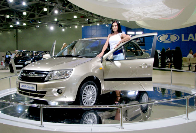 ИжАвто начнет выпуск Лады Гранта уже в 2012 году