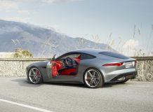 Концепт гибридного купе Jaguar C-X16