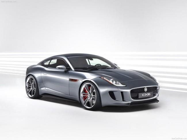 Jaguar представил новый спорткар C-X16 Concept