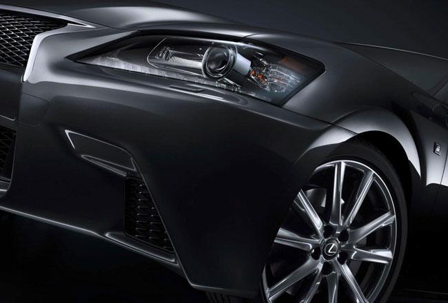 Тизер заряженного Lexus GS F Sport