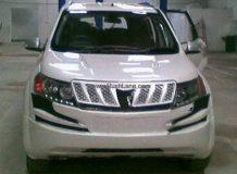 Шпионский снимок Mahindra XUV500