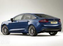 Рендеры будущего Ford Mondeo 2013