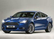 Так может выглядеть новый Форд Мондео 2013