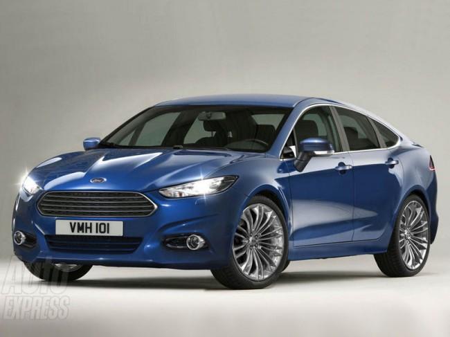 Новый Форд Мондео получит дизайн в стиле концепта Evos