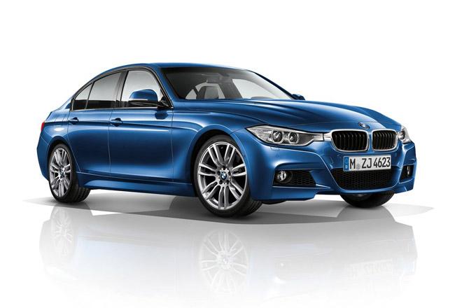 Новая BMW 3-серии 2012 с M-пакетом