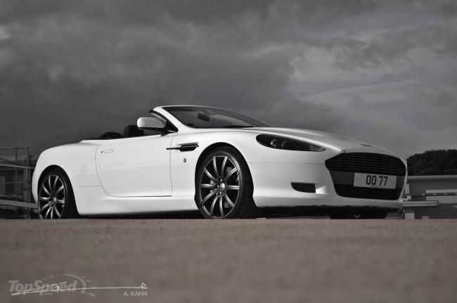 Aston Martin DB9 Volante от ателье Project Kahn