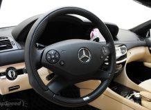 Тюнинг салона Mercedes CL от Brabus